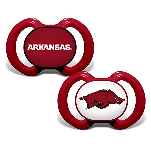 Pacifier Set, University of Arkansas Razorbacks ()