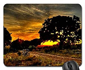 MAGNIFICENT SUNSET Mouse Pad, Mousepad (Sunsets Mouse Pad, 10.2 x 8.3 x 0.12 inches)