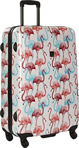 Saxoline Flamingo Koffer, 79 cm, 81 L, Mehrfarbig