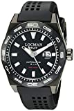 Locman Italy Men's 0215V4-KKCKNKS2K Stealth 300 Metri Analog Display Automatic Self Wind Black Watch