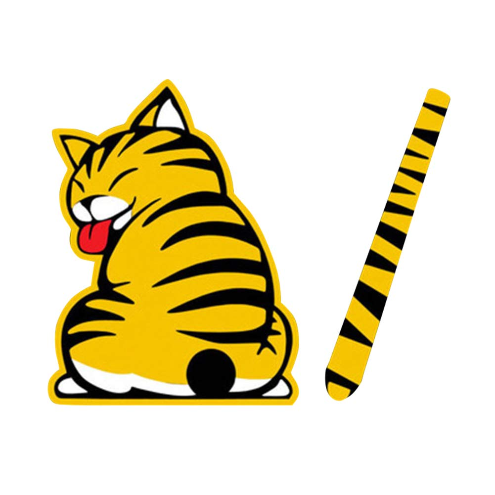 Amazon.com: Martinimble Car Stickers Car Stickers for Women Car Stickers Funny 3D Car Stickers Rear Window Car Stickers Car Stickers Cartoon Cats Moving ...