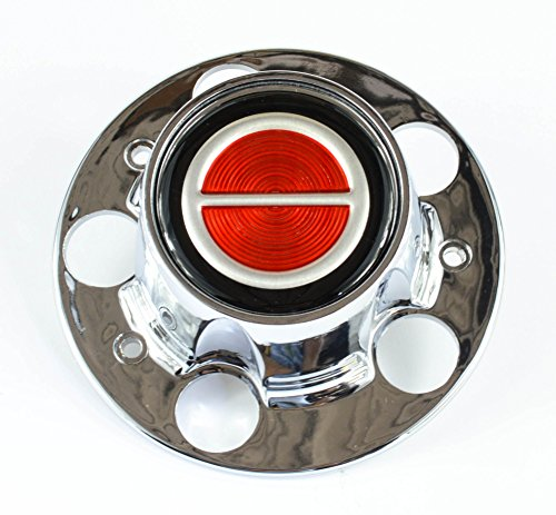 - BB Auto New Chrome Wheel Center Cap Red Emblem Replacement for Ford Ranger Bronco II Explorer