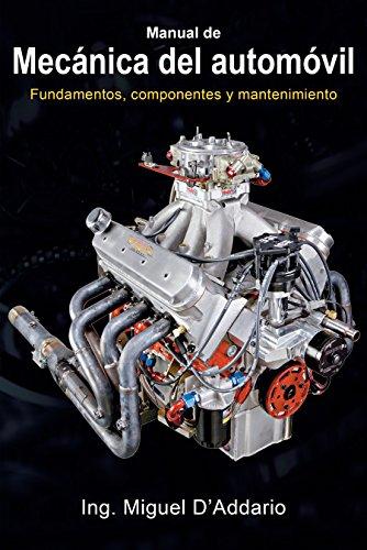 Portada del libro Manual de mecánica del automóvil de Miguel D'Addario