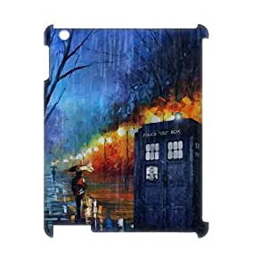 Doctor Who Personalized 3D Case for Ipad 2,3,4, 3D Customized Doctor Who Case