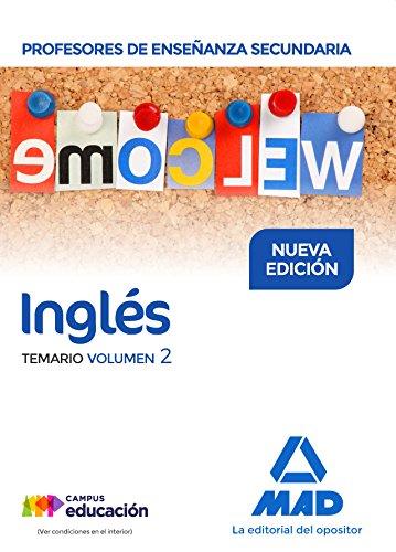 Profesores de Enseñanza Secundaria Inglés Temario volumen 2