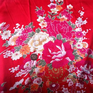Buy Generic Sold By Meter Soft Polyester Charmeuse Fabric Retro