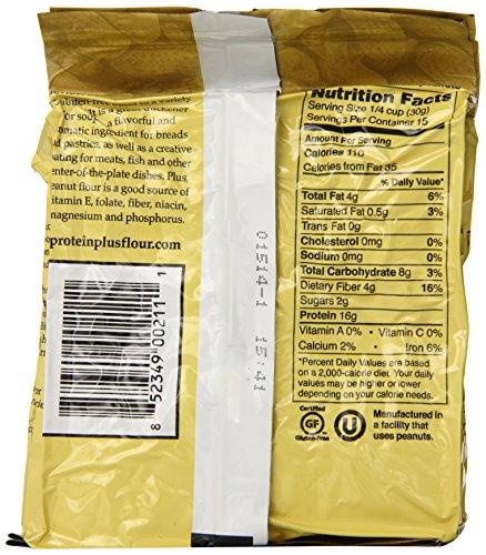 Protein Plus – Peanut Flour – Gluten Free – 16 Ounces by Protein Plus (Image #2)
