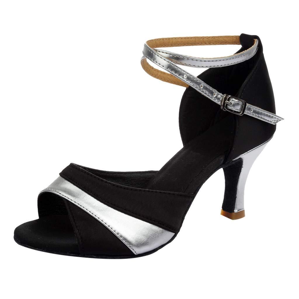 Onegirl Women Ladies Dancing Rumba Waltz Prom Ballroom Latin Ballet Dance Singles Shoes