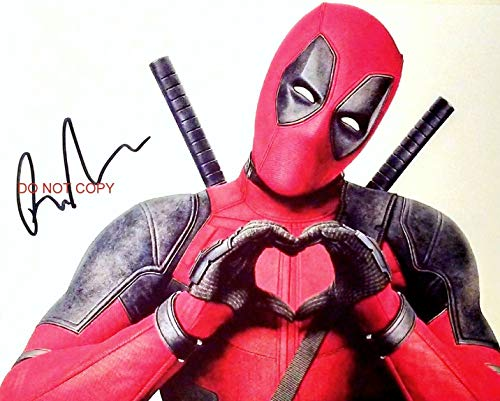 "Ryan Reynolds in Deadpool 2 8x10"" Photo #3 Autograph RP X-Men Marvel Comics from Loa_Autographs"