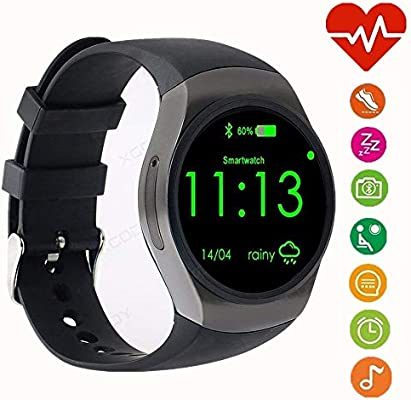 WADEO Bluetooth Smart Watch Phone, 1.3 Pulgadas IPS AMOLED ...