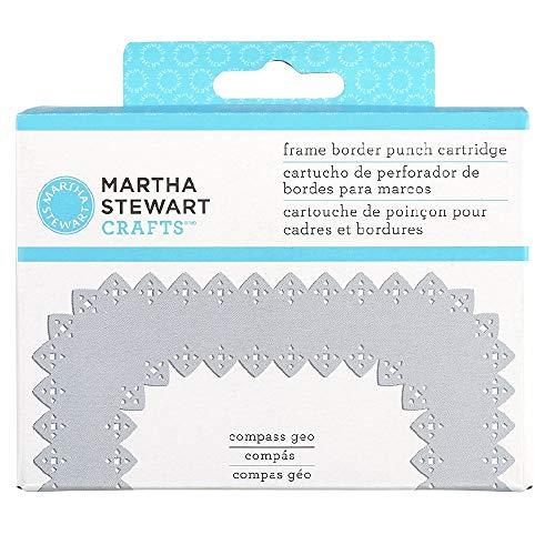 Martha Stewart Crafts Frame Border Punch Cartridge, Compass Geo]()
