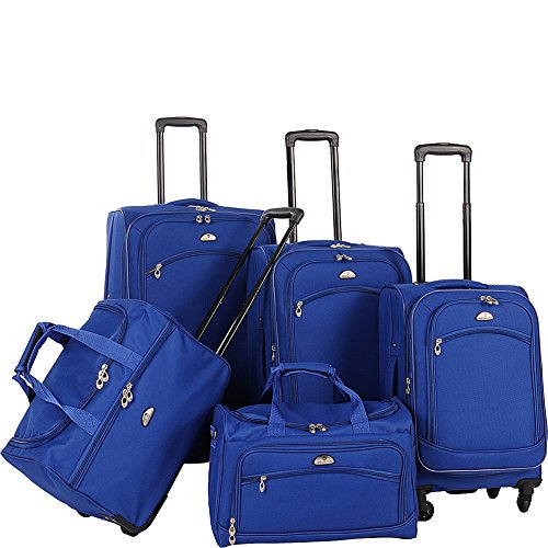 american-flyer-luggage-south-west-collection-5-piece-spinner-set-cobalt-blue-one-size