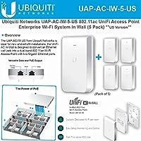 Ubiquiti UAP-AC-IW-5 US 802.11ac UniFi Access Point Enterprise Wi-Fi (5 Pack)