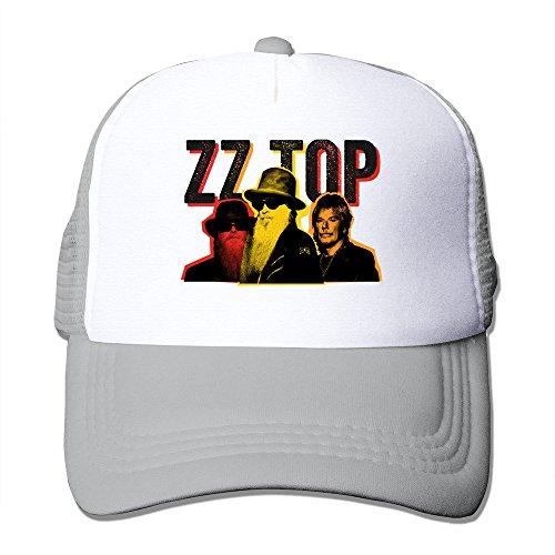 Ash HGLENice ZZ Top Unisex Adjustable Baseball Mesh Cap One Size