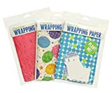 Blooming Plantables Plantable Wrapping Paper - 3 Pack - Honeysuckle/Balloons/Dots