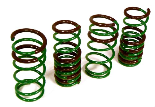Srt 4 Lowering Springs (Tein SKG78-AUB00 S.Tech Lowering Spring for Dodge SRT-4 2.4L Turbo)
