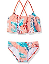 Girls' Alania Flounce Bikini Beach Sport 2 Piece Swimsuit