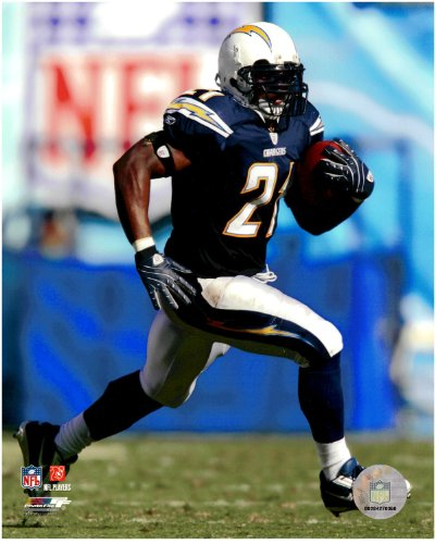 Licensed Nfl Football Photo (LaDainian Tomlinson San Diego Chargers Unsigned Licensed Football Photo 1)