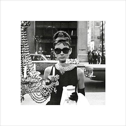 Audrey Hepburn (Window) Poster 15.75x15.75