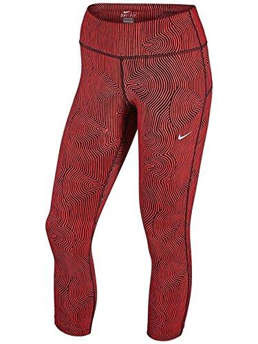 Nike Women's Zen Epic Run Crop Pants Light Crimson/Reflective Silver Pants SM X 23