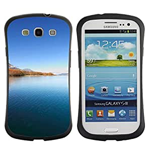 Pulsar iFace Series Tpu silicona Carcasa Funda Case para SAMSUNG Galaxy S3 III / i9300 / i747 , Landscape beauty