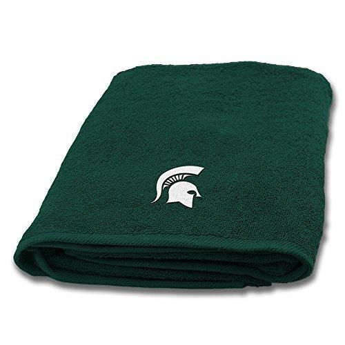 Northwest Michigan State Spartans NCAA Applique Bath Towel