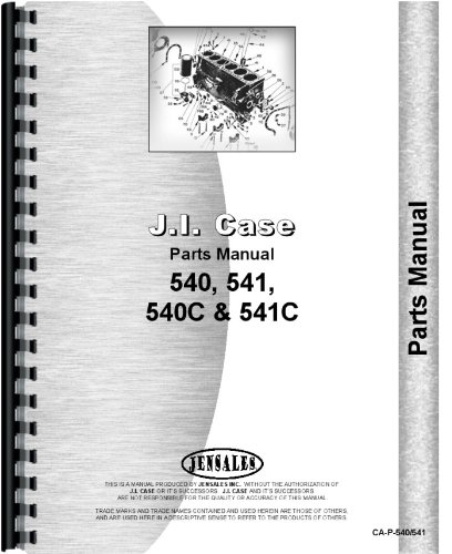 Download Case 541 Tractor Parts Manual pdf epub