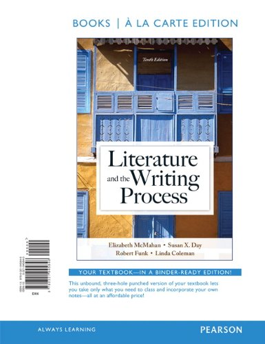 Literature and the Writing Process, Books a la Carte Edition (10th Edition)