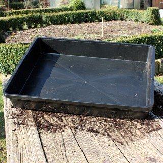 Stabile Universalwanne ohne Bodenlöcher für Pflanzen und Anzuchten Anzuchtschale - Aussaatschale Native Plants
