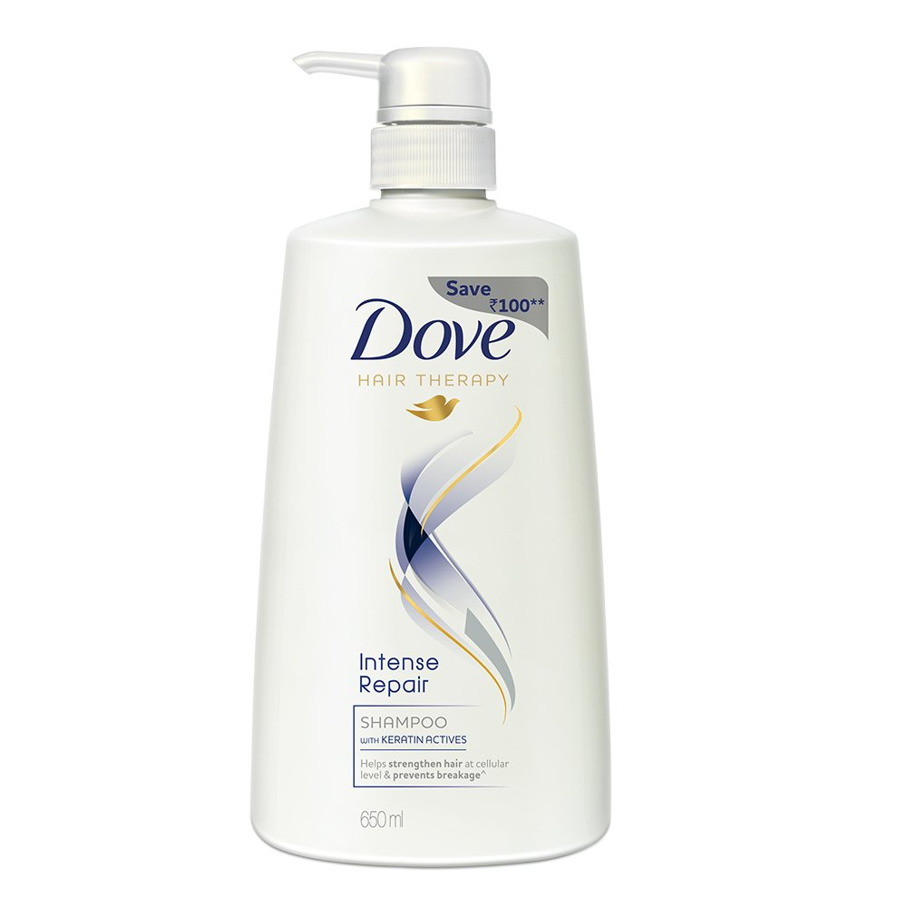 Dove Intense Repair Shampoo, 650 ml
