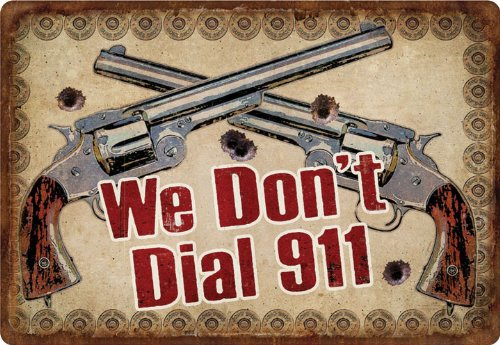 sign we dont dial 911 - 8