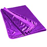 Liberator Fascinator Throe Sensual Throw Blanket, Purple Fluffy