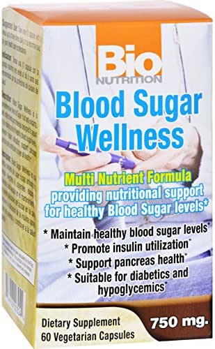 Bio Nutrition Blood Sugar Wellness 60 Capsules(Pack of 2)