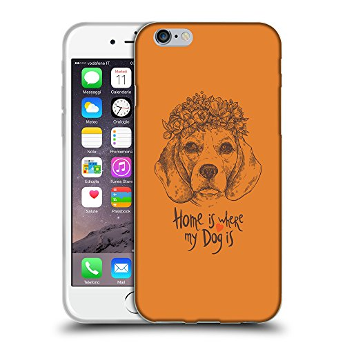 GoGoMobile Coque de Protection TPU Silicone Case pour // Q07650623 Chien beagle Orange Cadmium // Apple iPhone 6 PLUS 5.5""