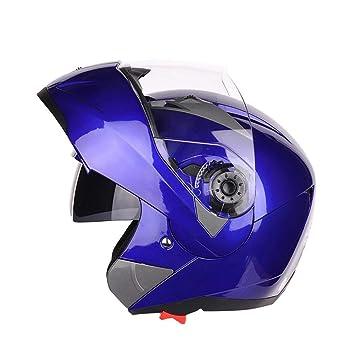 StageOnline Casco de Motocross Todoterreno - Casco de protección Modular JIEKAI/Cara Abierta/Alta Seguridad/Casco de Moto de competición/con ...
