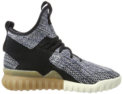 adidas Unisex-Erwachsene Tubular X Primeknit Sneakers Schwarz (Core Black/trace Blue/tactile Blue)