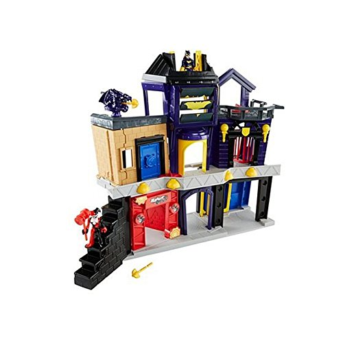 Fisher-Price DC Legends of Batman-Batgirl City Playset Figure (Fisher Price Imaginext Batman Gotham City Jail)