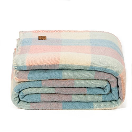 spencer&whitney Bed Blanket Cover Blankets Blanket Throws Queen Wool Blankets Soft Thick Blanket Warm Light King Wool Blanket Luxury Blanket Large Wool Blanket Quilt ()