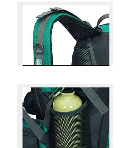 LAIDAYE Nylon Impermeable Mochila Multifuncional Al Aire Libre Negocios De Ocio De Usos Múltiples Mochila De Viaje Blue
