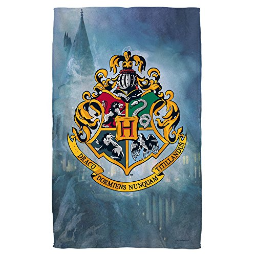 Harry Potter Hogwarts Crest Beach Towel (30'' x 60'') by Harry Potter