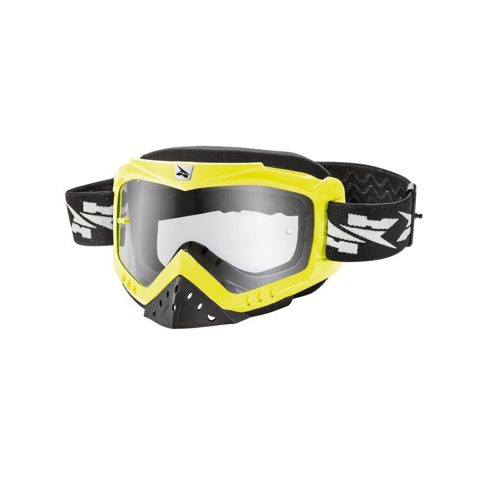 Axo Máscara Motocross Zenit Amarillo Flúor Única