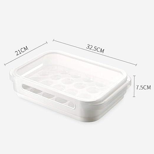 Dq123 Huevo Caja de Soporte, los hogares de 24 Rejilla Huevos del ...