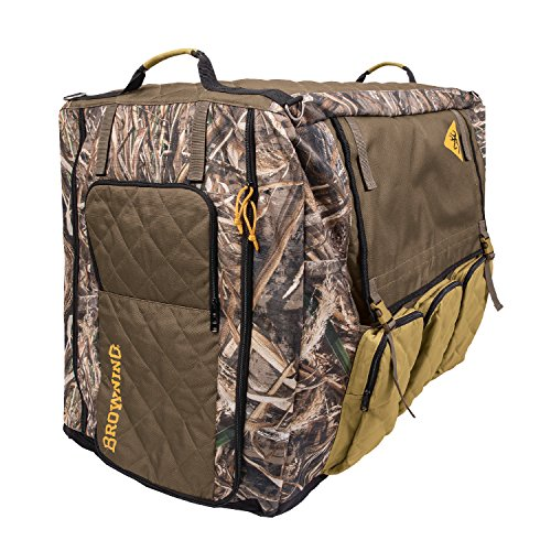 Browning Heavy Duty Dog Crate Cover, Realtree Max-5 Camo, Large by Browning