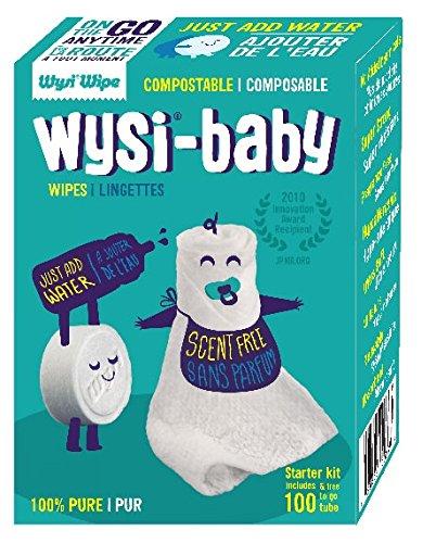 Wysi Starter Biodegradable Wipes Travel product image
