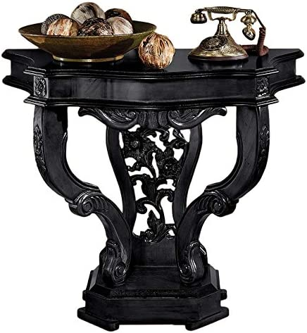 Design Toscano The Val de Loire Ebony Console Table