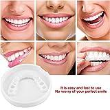 Temporary Cosmetic Upper Teeth Cover Denture Women Men 1 Pack