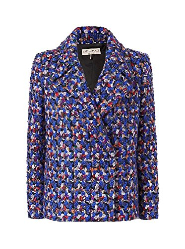 Emilio Pucci Wool Boucle Cropped Jacket 40/6
