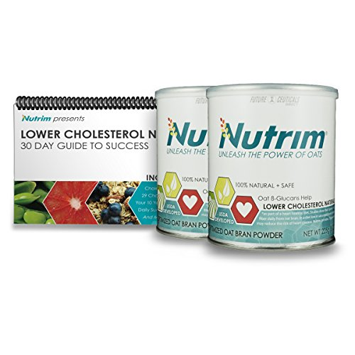 Nutrim® 60 Serving Success Kit - Oat Beta Glucans Help to Lower Cholesterol Naturally by FutureCeuticals Direct