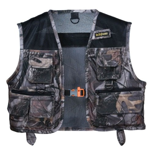 Lucky Bums Kid's Fishing and Adventure Vest (Large, Camo Realtree APHD), Outdoor Stuffs