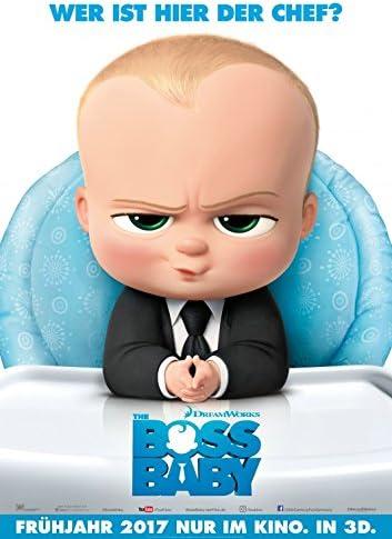 Amazon Com Boss Baby 2017 Original Movie Poster 27x40